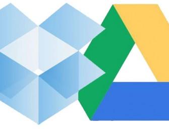 Dropbox en Google Drive